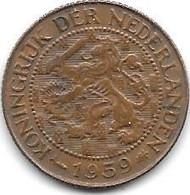 *suriname 1  Cent 1959  Km 10a   Xf+/ms60 - Surinam 1975 - ...