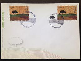 Portugal, UNUSUAL & Unused FDC « Cork Stamp », 2007 - FDC