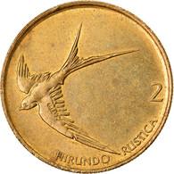 Monnaie, Slovénie, 2 Tolarja, 1993, TTB+, Nickel-brass, KM:5 - Eslovenia
