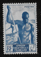 AFRIQUE EQUATORIALE FRANCAISE - AEF - A.E.F. - 1947 - YT 222** - Ongebruikt