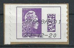 FRANCIA 2019 - Adhesifs - Marianne L'Engagée - YV 1656 - Gebruikt