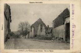 Bouilly Pres Villedommange - Rue De L Eglise - Altri Comuni