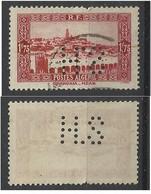 Colonie ALGERIE N° 119 HS 21 Indice 6 Perforé Perforés Perfins Perfin - Andere