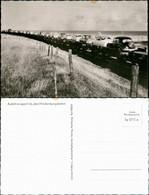 Ansichtskarte Westerland-Sylt Eisenbahn Zug Autotransport Hindenburgdamm 1955 - Unclassified