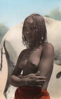 V12 65Sb  Tchad Abéche Jeune Fille Abéchoise - Chad
