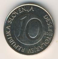 SLOVENIA 2002: 10 Tolarjev, KM 41 - Eslovenia
