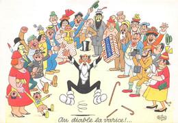 Illustrateurs - N°70896 - Dubout - Au Diable La Varice - Fluxoveine - Carte Publicitaire - Dubout