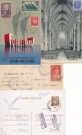 P-407: FRANCE: Lot Avec  4  CP (Pétain) - Briefe U. Dokumente