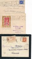 P-409: FRANCE: Lot Avec 3  Enveloppes  (Pétain) - Briefe U. Dokumente