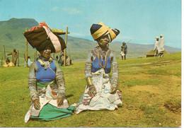 Rhodesie Zimbabwe Femmes En Costumes Traditionnel Coiffes - Zimbabwe