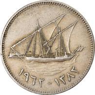 Monnaie, Kuwait, Jabir Ibn Ahmad, 50 Fils, AH 1382/1962, TTB, Copper-nickel - Kuwait