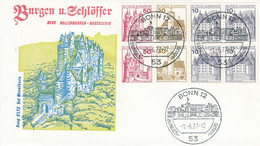 FDC  Heft 26 Burgen Und Schlösser Burg Eltz Bei Moselkern, Bonn 12 - FDC: Briefe