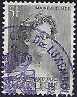 Luxembourg - Luxemburg  - Timbres - Briefmarken - 1939  Marie-Adelaide  5 Fr. Cachet Bourse Du Travail Violet Rare - Blocs & Feuillets