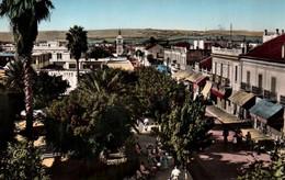 CPSM - FERRYVILLE - Place Du Marché ... - Túnez