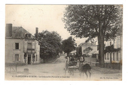 58 NIEVRE - SAINCAIZE LE GUETIN La Grenouille (route De La Guerche) - Otros Municipios