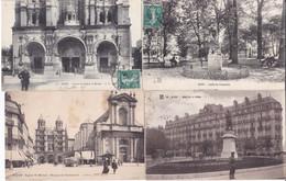21 – DIJON – LOT DE 8 CARTES POSTALES ANCIENNES - Dijon
