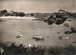 Port-manech - La Plage Et L'abri Du Port - Altri Comuni