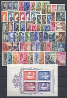Vaticano 1955/58 Annate Complete  / Complete Year Set Pio XII MNH/** - Annate Complete
