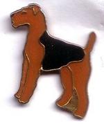 I17 Pin's FOX TERRIER Chien Dog Brun Et Noir Achat Immédiat - Animali