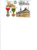 Carte Philatélique Légion D'honneur Et Croix De Guerre à La Ville De Reims YT N°5388. Illustration R. Irolla. - Unclassified