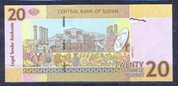 Sudan- -  2011 -  20 Pounds...   .P74...UNC - Soedan