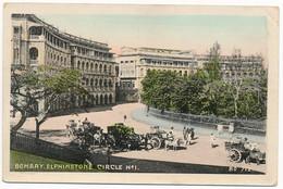 XIND.56.  BOMBAY - Elphinstone Circle N° 1 - India