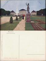 München Schloß Und Parkanlage Nymphenburg Skulptur Wasserkunst 1910 - Muenchen