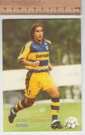 Fabio Cannavaro  - Parma # Calcio #  Cartolina - Voetbal