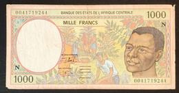 AC2020 - Central African Republic 2000 Banknote 1000 Francs N - EQUATORIAL GUINEA - Equatorial Guinea