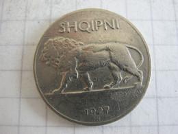 Albania 1/4 Leku 1927 - Albanien