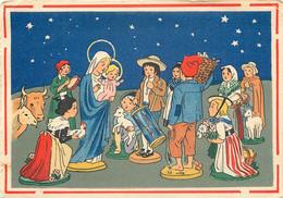Barre Dayez 1469 C - Santons Noel Jesus Marie 1954 - Other Illustrators