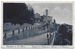 Repubblica Di San Marino - Convento Dei Cappuccini E Monumento A San Francesco. - San Marino