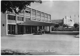 Modena - Stazione Autocorriere E Palazzo Dello Sport. Auto, Car, Voitures. - Modena