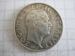 Albania 1 Frang 1937 - Albanien