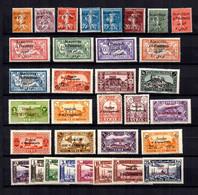Alexandrette Et Alaouites Petite Collection Neufs * 1925/1938. Bonnes Valeurs. B/TB. A Saisir! - Unused Stamps