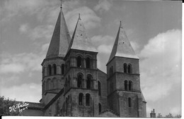 CPM  PARAY LE MONIAL  71   :  L'Eglise  1966  Carte Photo - Paray Le Monial