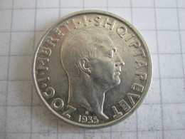 Albania 1 Frang 1935 - Albanien