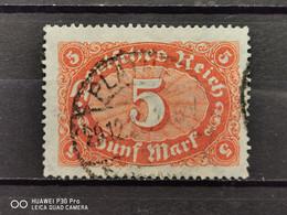 Deutsche Reich Mi-Nr. 174 B Gestempelt Geprüft KW 32€ - Infla
