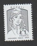 TIMBRE -   2016  -  N° 5014  - Marianne De Ciappa - Ecopli Gris -       Neuf Sans Charnière - Nuevos