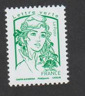 TIMBRE -   2016  -  N° 5015  - Marianne De Ciappa - TVP Vert -       Neuf Sans Charnière - Nuevos