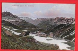 SWITZERLAND   FURKABLICK GEGEN DEN GOTTHARD - VS Valais