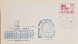 A) 1960, ARGENTINA, MARKETPLACE, EFIMAYO, INTER-AMERICAN EXHIBITION OF PHILATELIA, BUENOS AIRES COUNCIL - Oblitérés