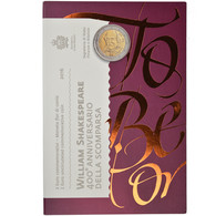 San Marino, 2 Euro, 400ème Anniversaire De La Mort De William Shakespeare - San Marino