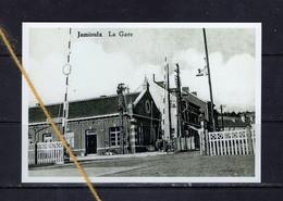 PHOTO JAMIOULX HAM SUR HEURE NALINNES GARE REPRO - Ham-sur-Heure-Nalinnes