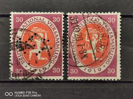 Deutsche Reich Mi-Nr. 110 A+b Gestempelt Geprüft KW 45€ - Mecklenburg-Schwerin