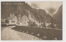 Suisse - En Route Pour Loeche Les Bains  - Train Travaux - VS Valais
