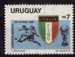URUGUAY  N° 1131  * *  Cup 1982   Football Soccer Fussball - 1982 – Espagne