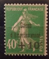 France/French Stamp 1929  N°253a Sans Le Premier E D'amortissement **TB Cote 350€ - Ungebraucht