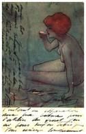 Illustrateur Raphael Kirchner - Ondine - Kirchner, Raphael