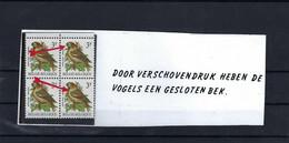 N°2189P7a-Cu/2189P7a-V2 Buzin MNH ** POSTFRIS ZONDER SCHARNIER SUPERBE - 1985-.. Pájaros (Buzin)